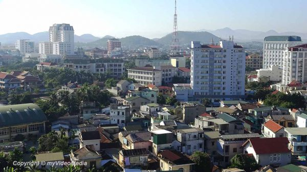 Rooftop view Romance Hotel Hue