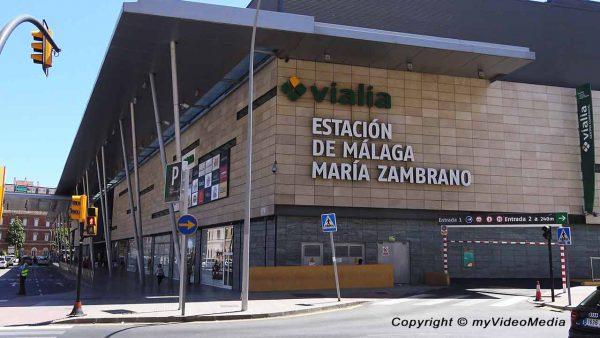 Estacion de Malaga-Maria Zambrano