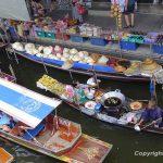 Der schwimmende Markt von Damnoen Saduak