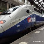 Renfe-SNCF high-speed train