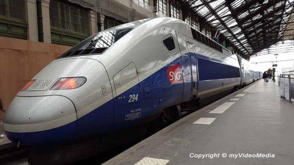 Renfe-SNCF Hochgeschwindigkeitszug