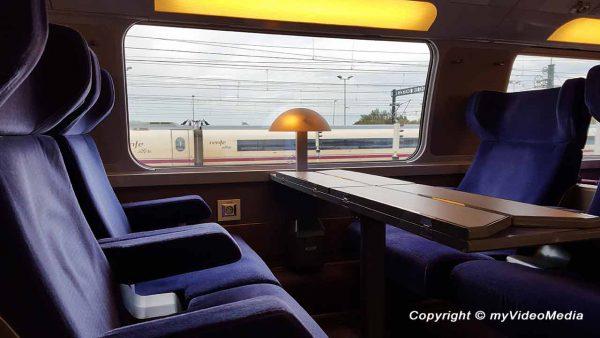 im Renfe-SNCF Hochgeschwindigkeitszug
