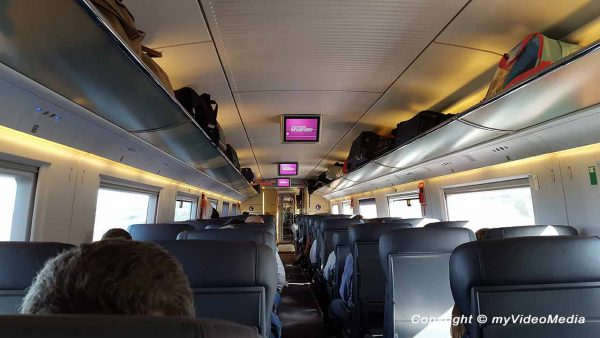 Zug von Barcelona nach El Escorial