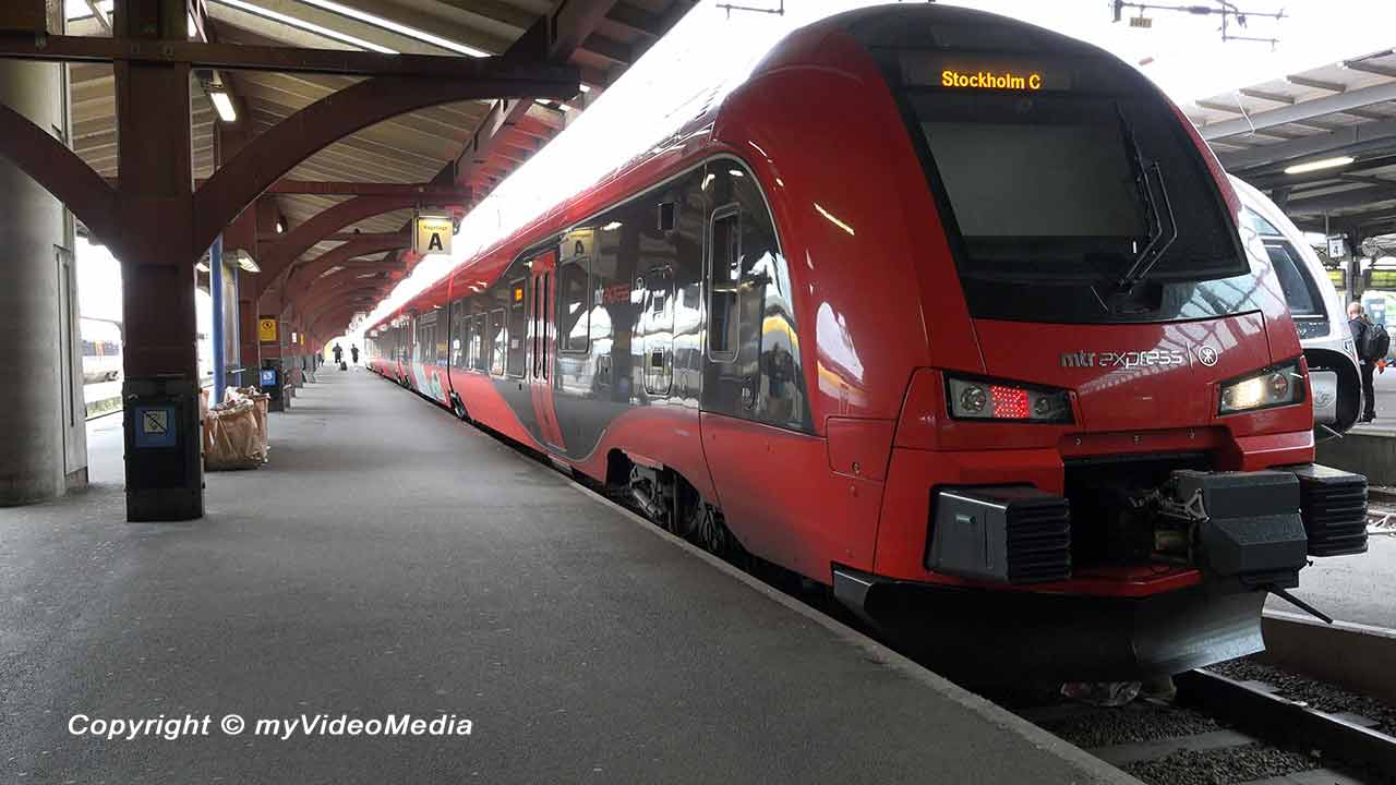 MRT Express Gothenburg Stockholm