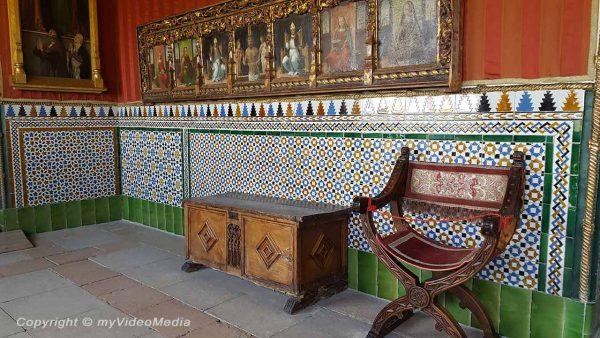 Schnur-Saal im Alcazar von Segovia