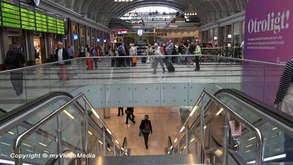 Arrival Stockholm Centralen