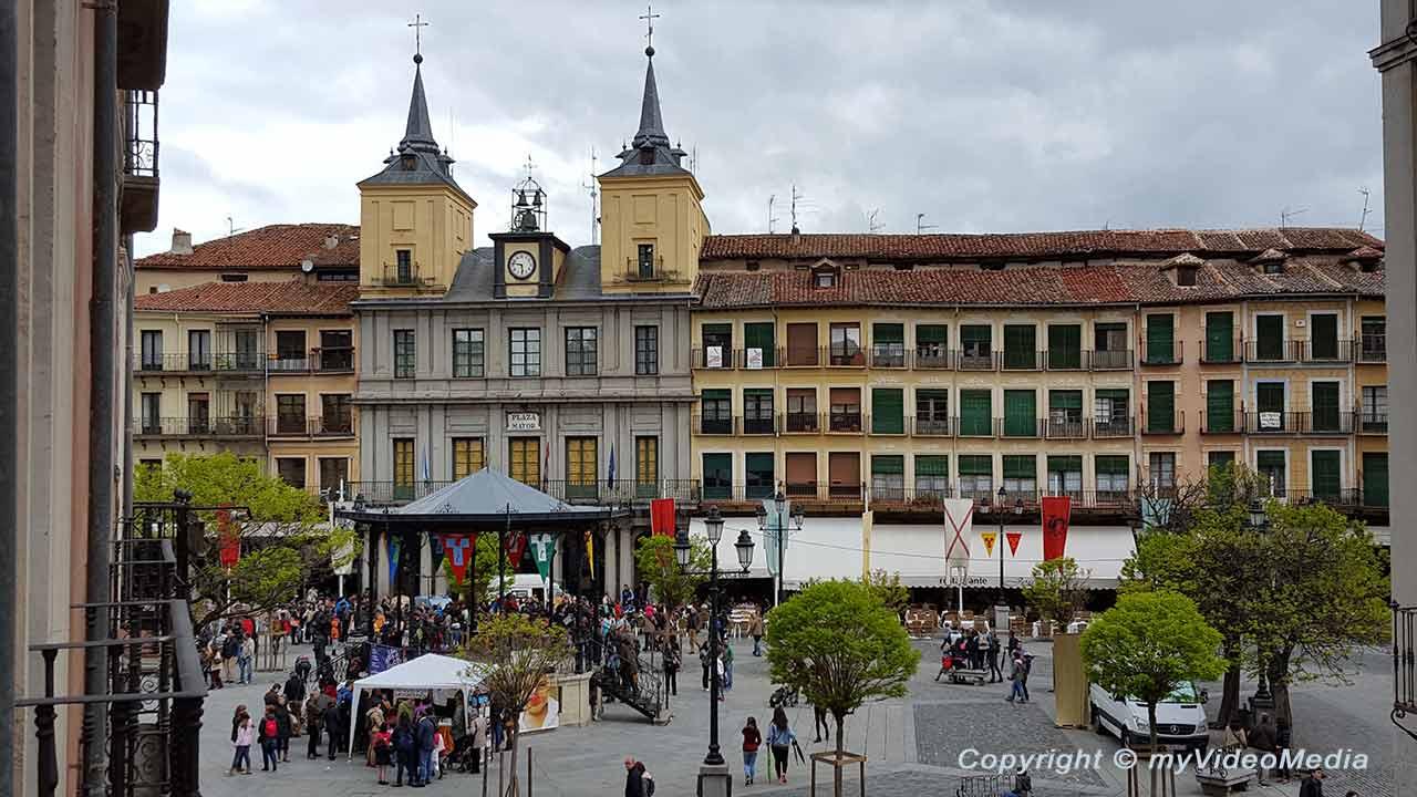 Arrival in Segovia