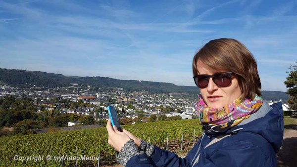 visit to trier with mandy