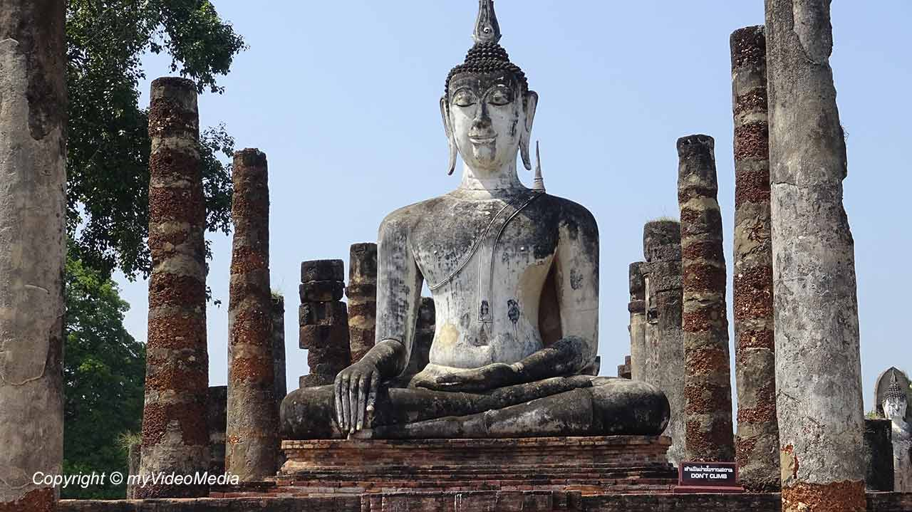 Geschichtspark Sukhothai - Thailand - Reise Video Blog