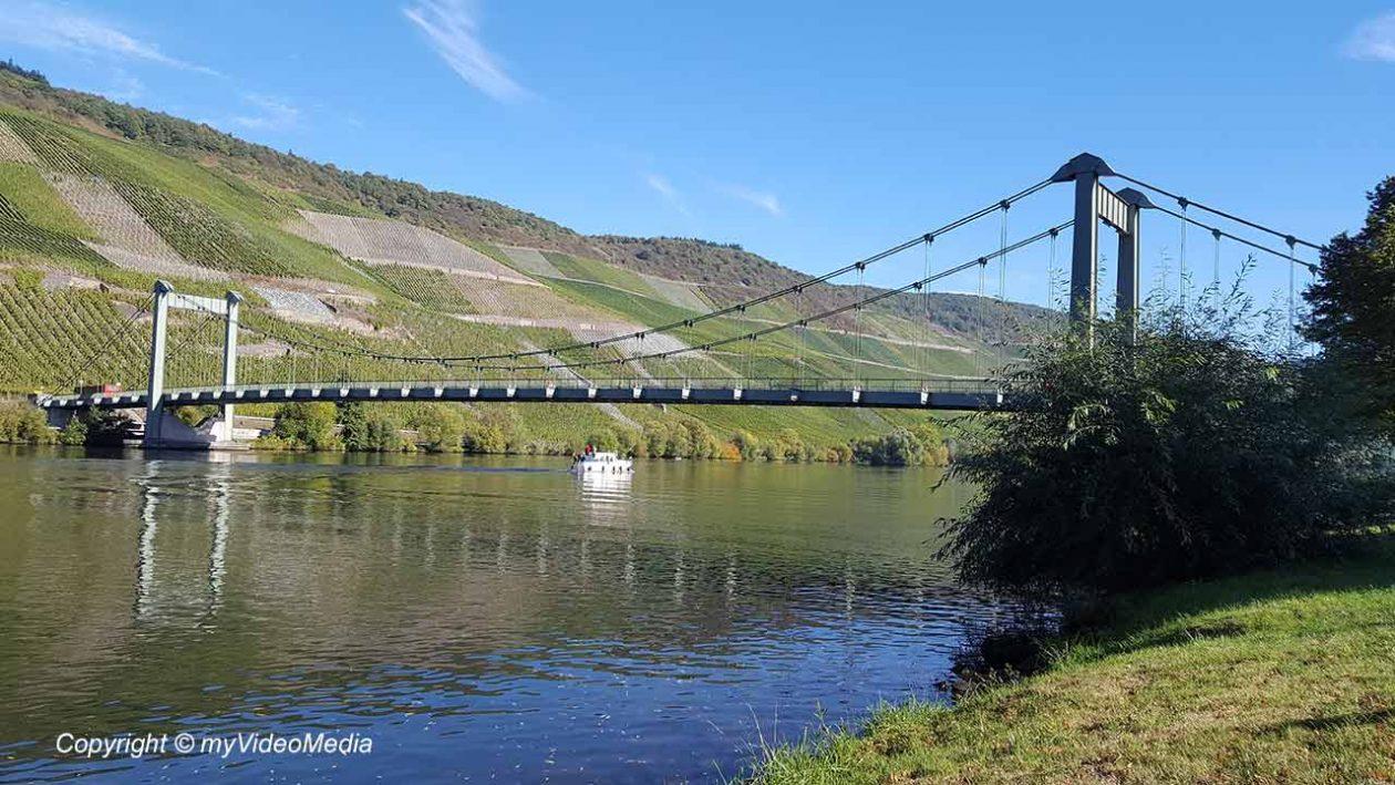 Wehlen suspension bridge