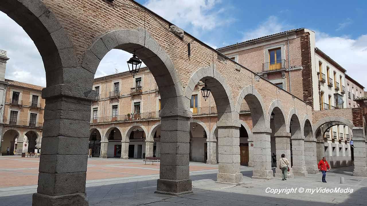 Center of Avila