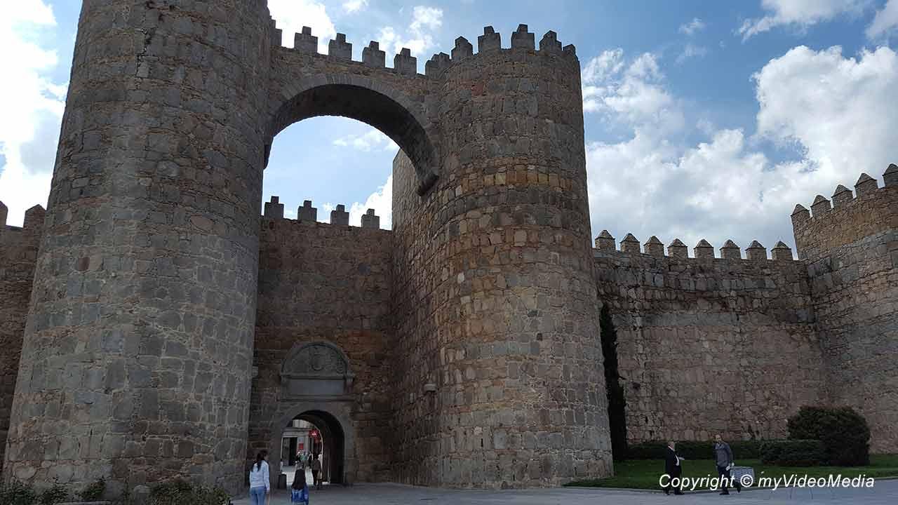 Old town of Avila