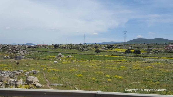 Segovia to Avila