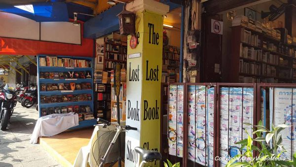 The lost book shop Chiang Mai