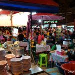 Saturday Night Market and Wat Si Supan