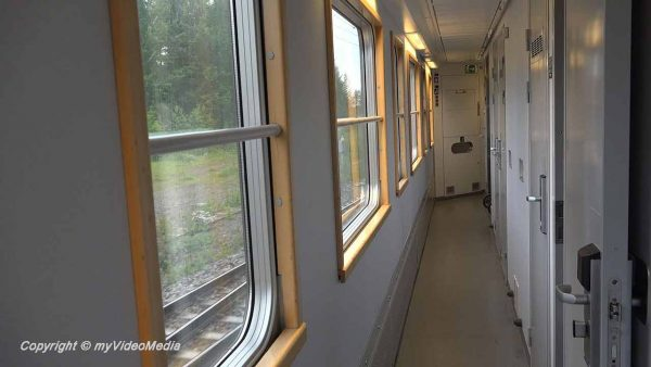 night train from Stockholm to Luleå