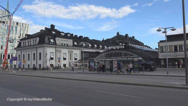 Arrival Stockholm