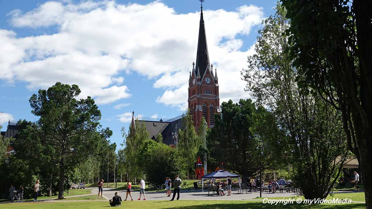Center of Lulea