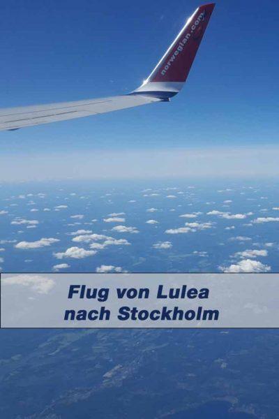 Flug von Lulea nach Stockholm