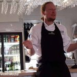 Live cooking im Kaptensgarden in Gammelstad