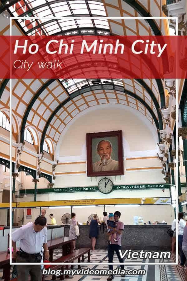 Ho Chi Minh City walk