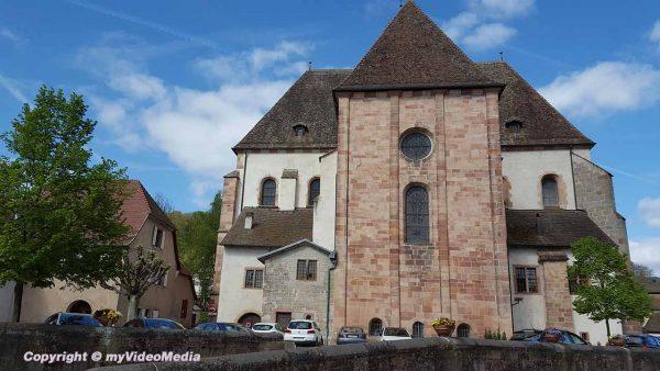 Kloster in Andlau