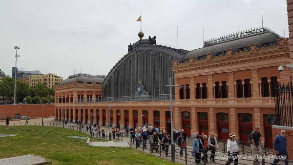 Atocha Train Station Madrid