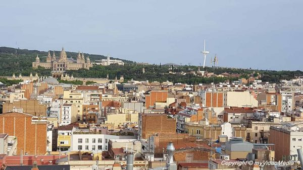View from Expo Hotel Barcelona