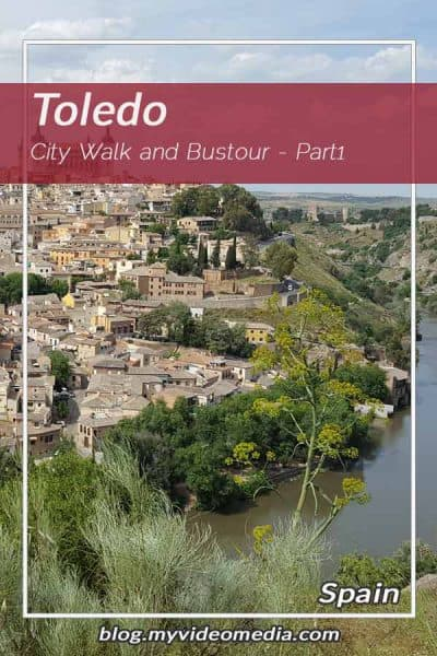 City Walk and Bustour in Toledo