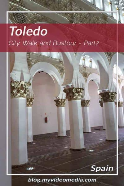 City Walk and Bustour in Toledo part 2