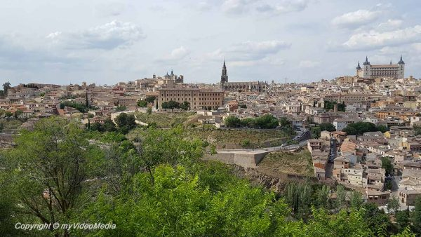 Toledo city walk