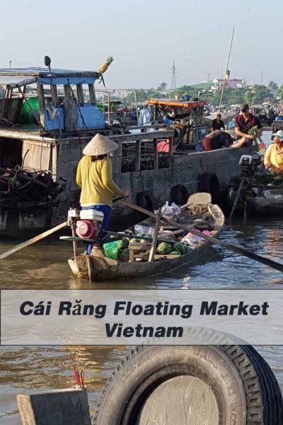 Schwimmender Markt von Cai Rang