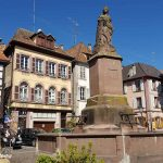 The picturesque town of Ribeauville in Alsace