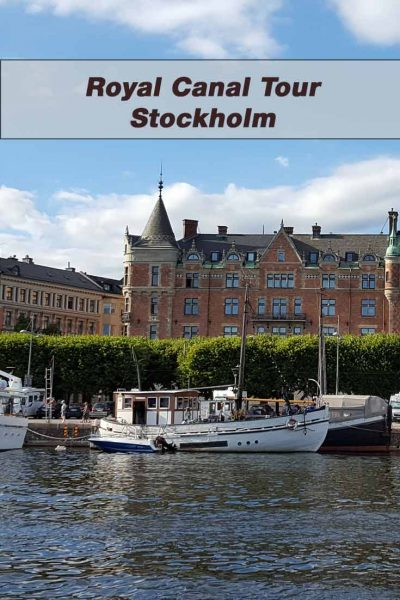 Royal Canal Tour in Stockholm