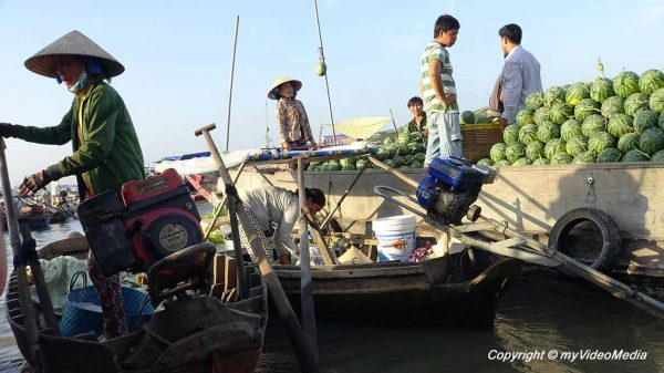 floating market of Cai Rang