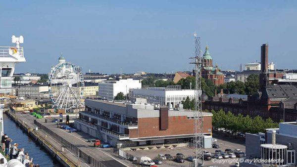 Mooring in Helsinki