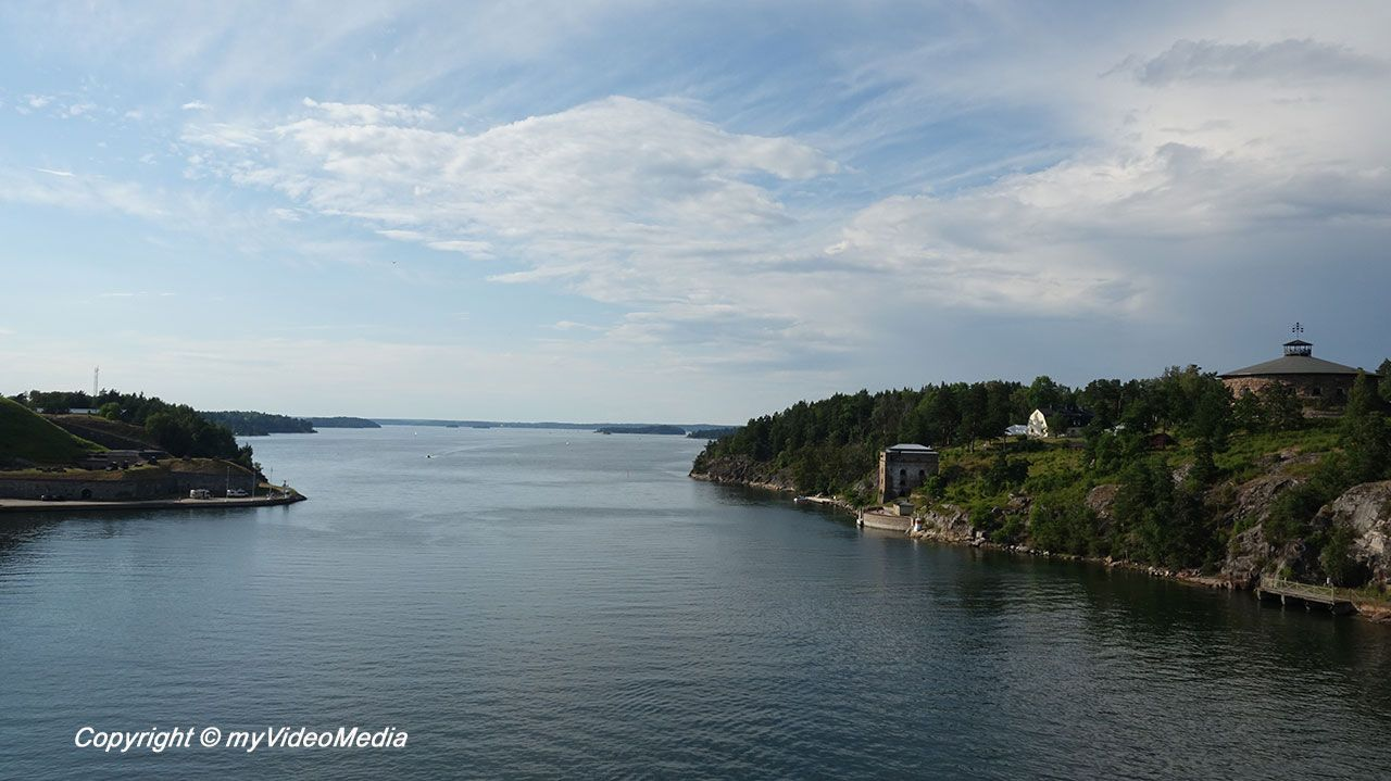 Fähre von Stockholm nach Åland