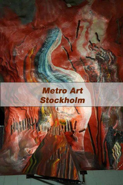 Metro Art -Stockholmsw Tunnelbana