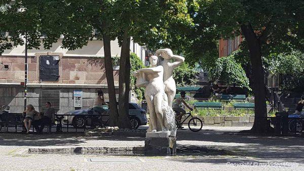 Mosebacke square