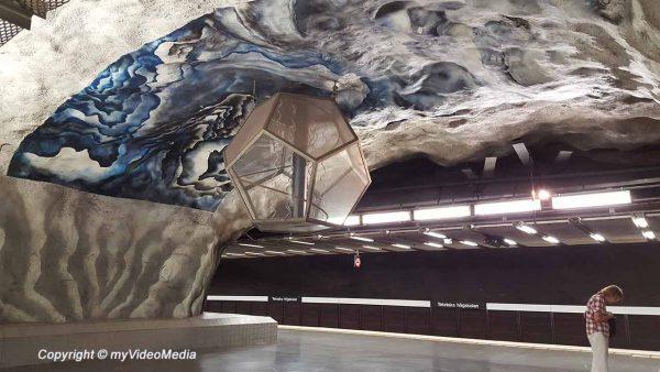 Stockholms Tunnelbana – Metro Art
