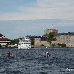 Excursion in the archipelago to Vaxholm