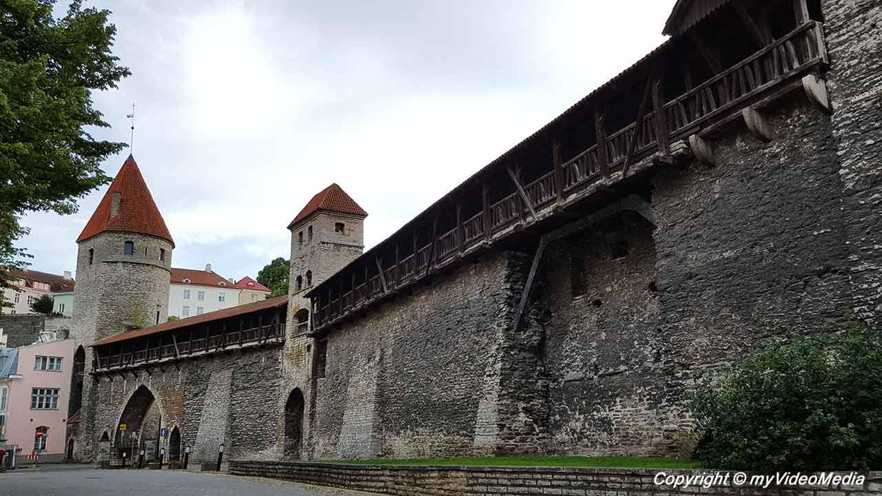 Tallinner Stadtmauer