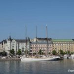 A boat tour around Helsinki