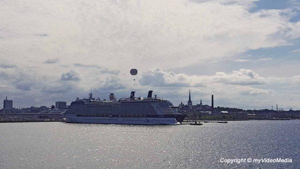 Fähre von Helsinki nach Tallinn