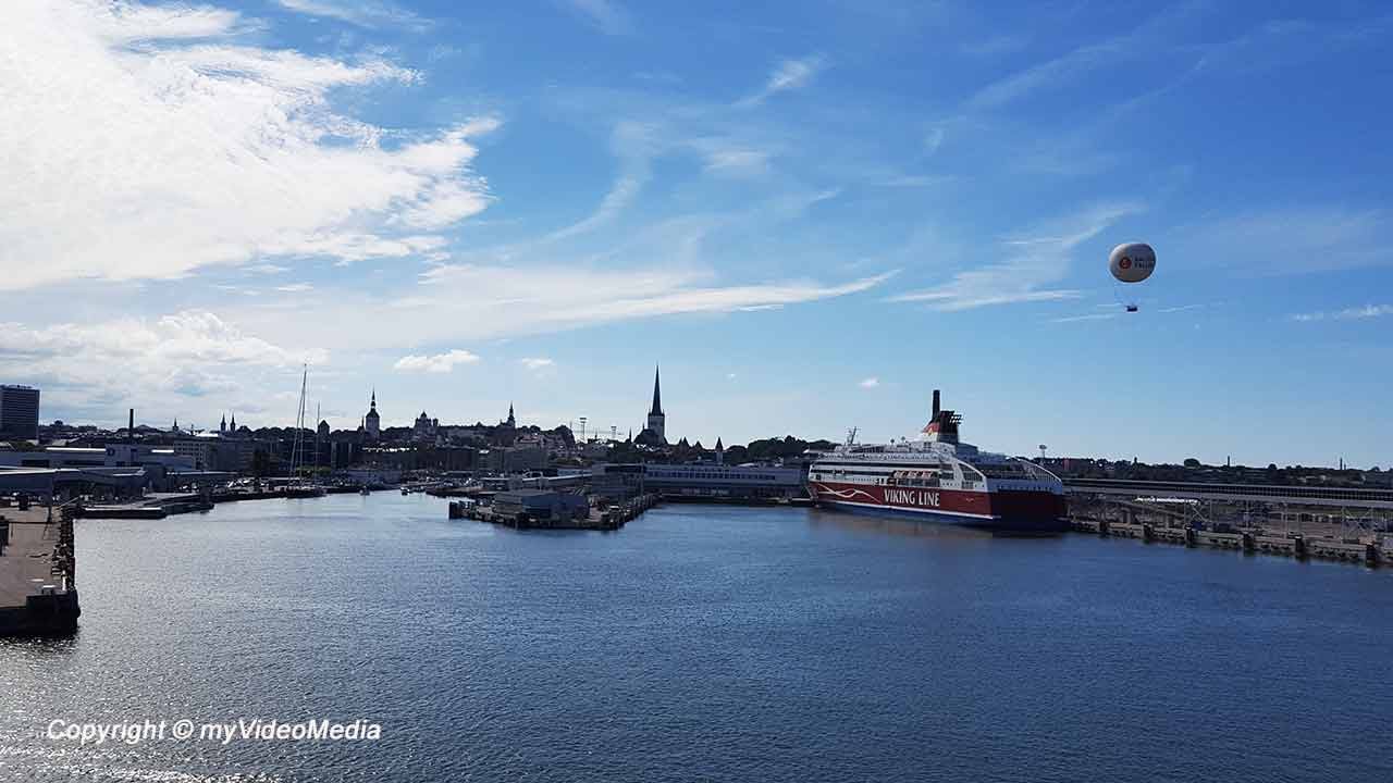 Ferry from Helsinki to Tallinn