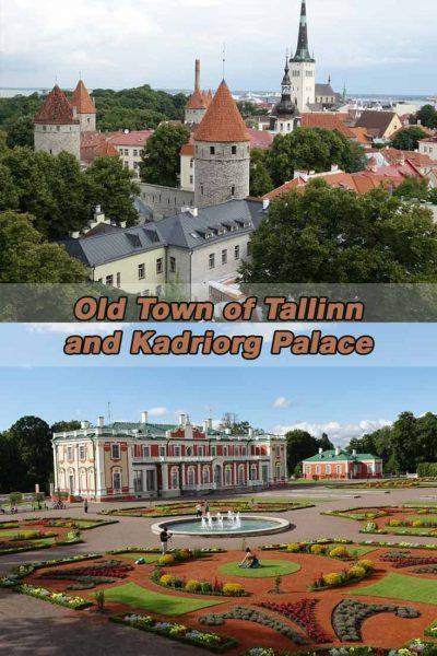 Altstadt von Tallin und Schloss Katharinental