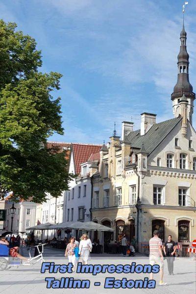 First Impressions of Tallinn