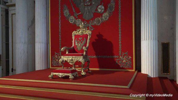 großer Thron Saal Winterpalast