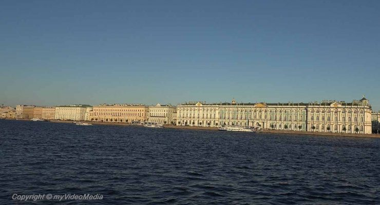 Winter Palace and the Hermitage