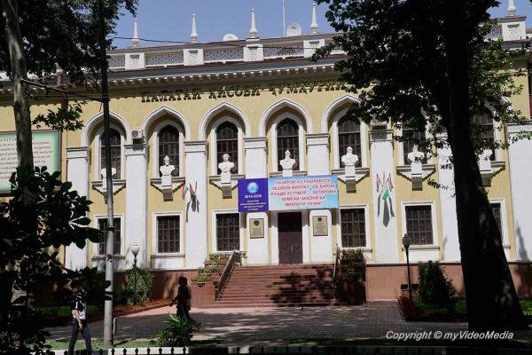 Stadtrundgang in Duschanbe